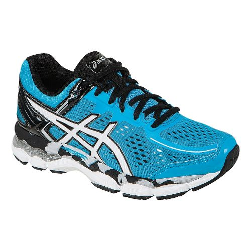 Kids ASICS GEL-Kayano 22 GS Running Shoe - Turquoise/White 4