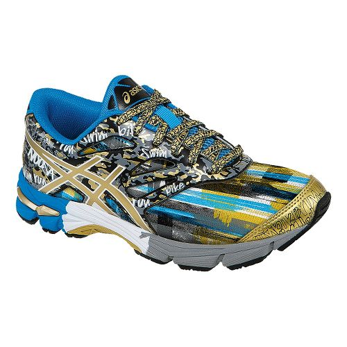 Kids ASICS GEL-Noosa Tri 10 GS GR Running Shoe - Black/Gold 2