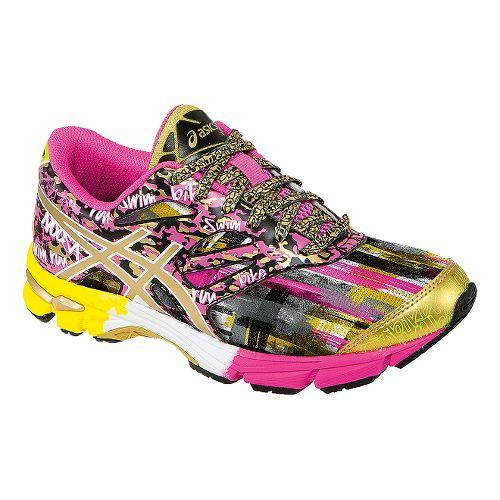 Kids ASICS GEL-Noosa Tri 10 GS GR Running Shoe - Pink Glow/Gold 1Y