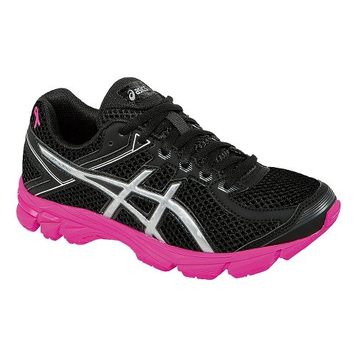 Kids ASICS GT-1000 4 GS PR Running Shoe - Black/Pink Ribbon 2Y