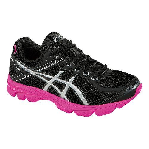 Kids ASICS GT-1000 4 GS PR Running Shoe - Black/Pink Ribbon 6