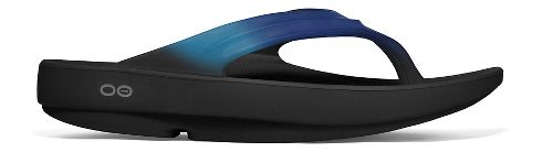 Womens OOFOS OOlala Sandals Shoe - Blue Jay 11