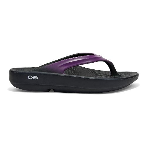 Womens OOFOS OOlala Sandals Shoe - Violet 6
