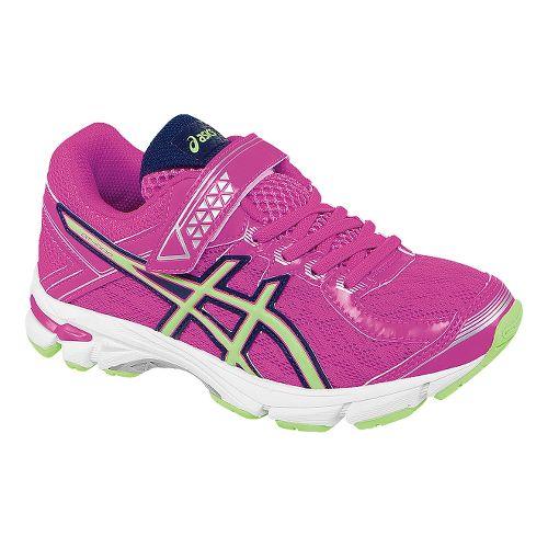 Kids ASICS GT-1000 4 PS Running Shoe - Pink Glow/Pistachio 10