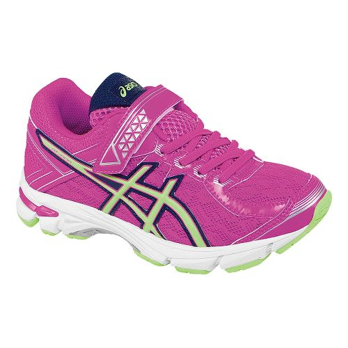 Kids ASICS GT-1000 4 PS Running Shoe - Pink Glow/Pistachio 3