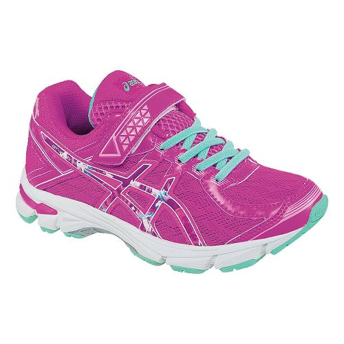 Kids ASICS GT-1000 4 PS PR Running Shoe - Pink Glow/Hot Pink 11