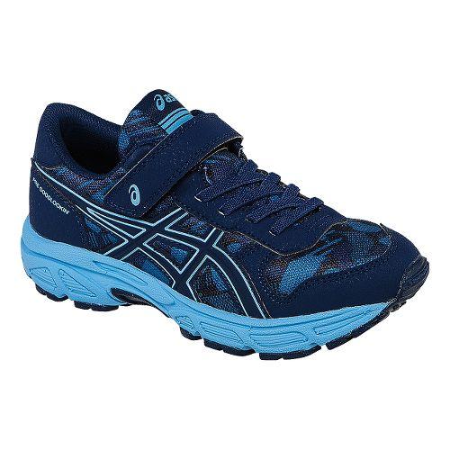 Kids ASICS PRE Bounder PS Running Shoe - Indigo Blue/Sky Blue 13