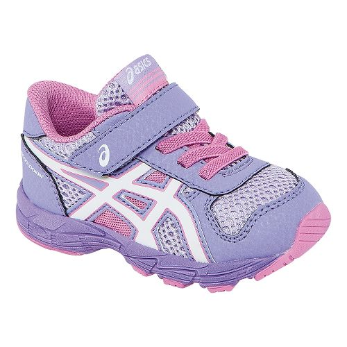 Kids ASICS Bounder TS Running Shoe - Petal Pink/White 6