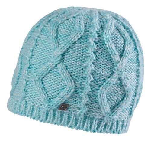 Road Runner Sports Women's Rockin-Knit Beanie Headwear - Aruba Blue