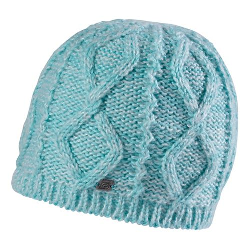 Road Runner Sports Women's Rockin-Knit Beanie Headwear - Aruba Blue
