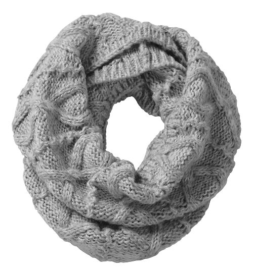 Road Runner Sports Rockin-Knit Infinity Scarf Headwear - Dove Grey