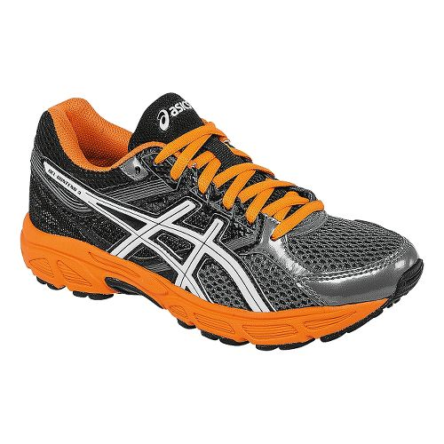 Kids ASICS GEL-Contend 3 GS Running Shoe - Carbon/Orange 1