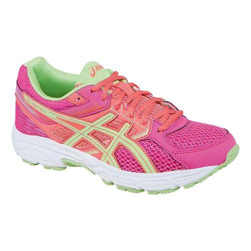 Kids ASICS GEL-Contend 3 GS Running Shoe - Hot Pink/Pistachio 5.5