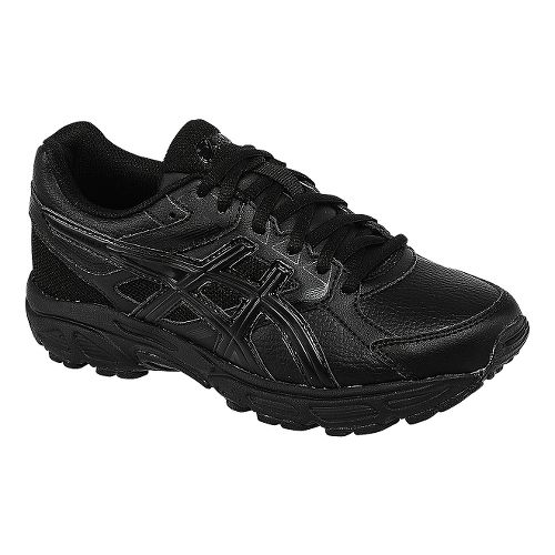 Kids ASICS GEL-Contend 3 GS LE Running Shoe - Black/Onyx 1Y