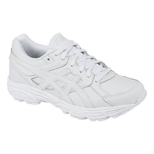 Kids ASICS GEL-Contend 3 GS LE Running Shoe - White/Snow 7Y