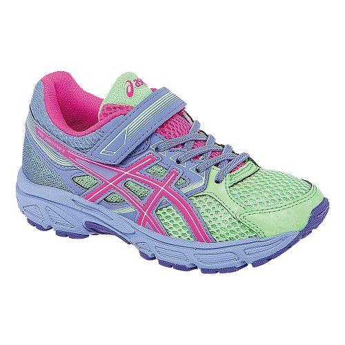 Kids ASICS PRE-Contend 3 PS Running Shoe - Pistachio/Lavender 2