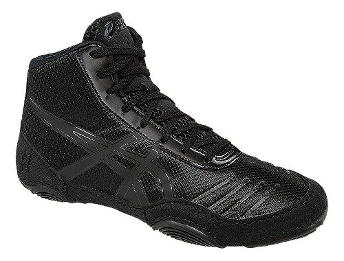 Kids ASICS JB Elite V2.0 Pre School Wrestling Shoe - Black/Onyx 1.5Y