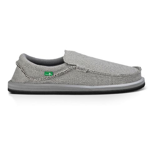 Mens Sanuk Chiba Casual Shoe - Light Grey 9