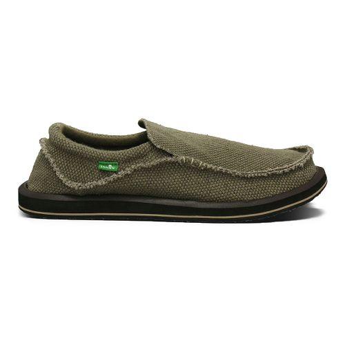 Mens Sanuk Chiba Casual Shoe - Brown 12