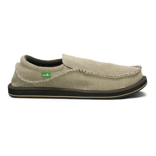 Mens Sanuk Chiba Casual Shoe - Tan 8