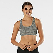 Womens R-Gear Undercover Seamless Racerback Sports Bra - Charcoal/Dove Grey XS