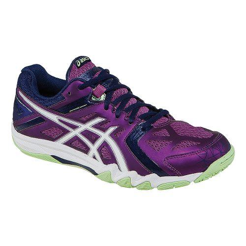 Womens ASICS GEL-Court Control Court Shoe - Grape/White 7.5