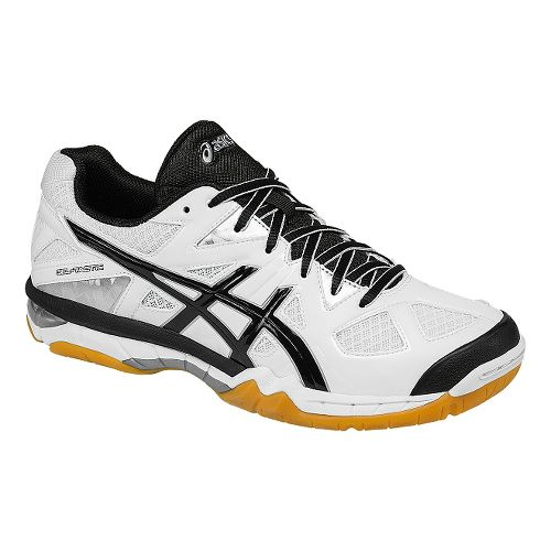 Womens ASICS GEL-Tactic Court Shoe - White/Black 6