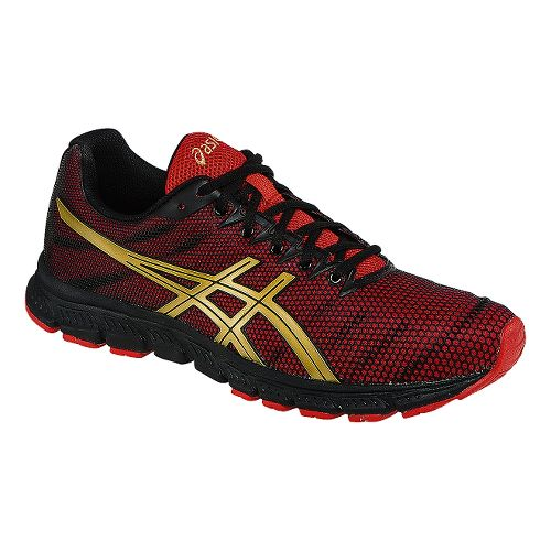 Mens ASICS JB Elite TR Cross Training Shoe - Black/Oly Gold 12