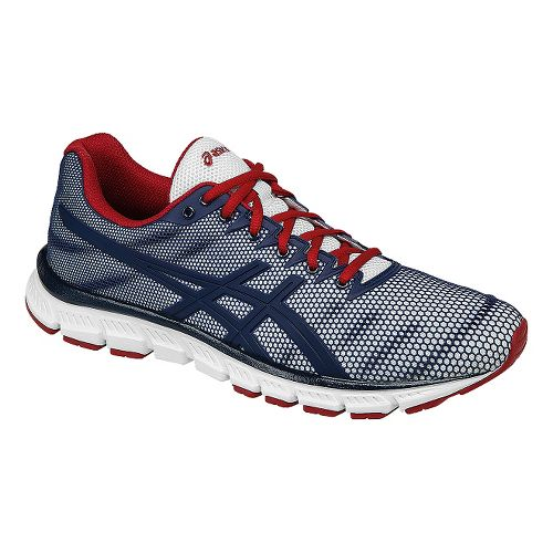 Mens ASICS JB Elite TR Cross Training Shoe - White/Navy 12.5