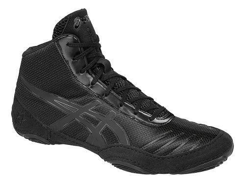 Mens ASICS JB Elite V2.0 Wrestling Shoe - Black/Onyx 10