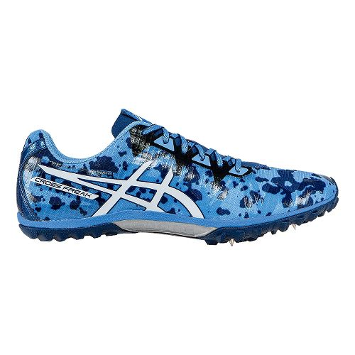 Mens ASICS Cross Freak 2 Track and Field Shoe - Powder Blue/White 4