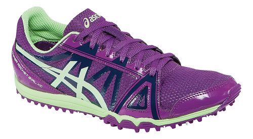 Womens ASICS Hyper-Rocketgirl XC Track and Field Shoe - Grape/Pistachio 7.5