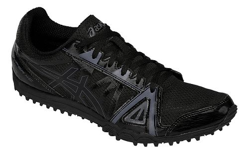 Mens ASICS Hyper XC Track and Field Shoe - Black/Onyx 15