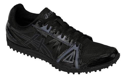 Mens ASICS Hyper XC Track and Field Shoe - Black/Onyx 9