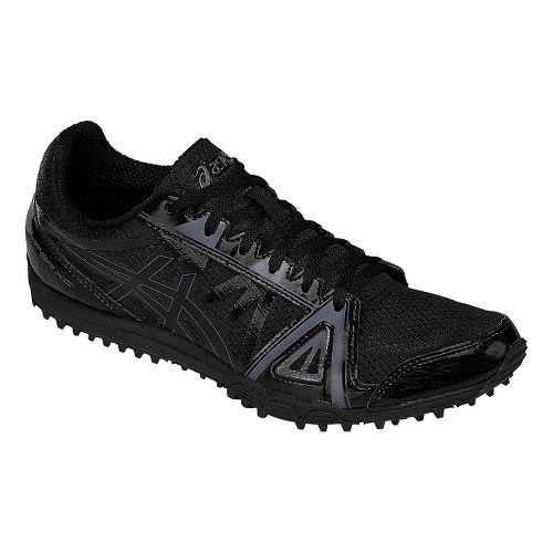 Mens ASICS Hyper XC Track and Field Shoe - Black/Onyx 6.5