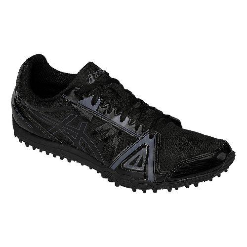 Mens ASICS Hyper XC Track and Field Shoe - Black/Onyx 8.5