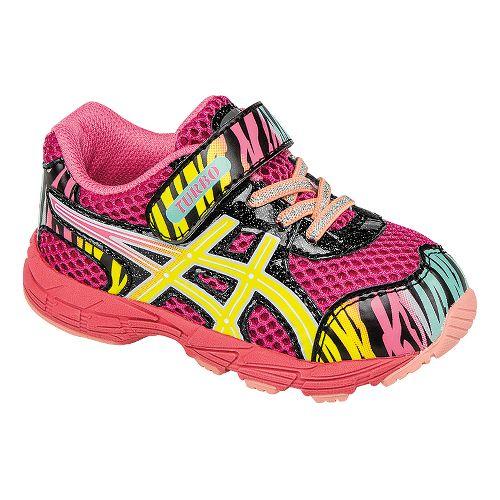Kids ASICS Turbo Running Shoe - Pink/Black 8C