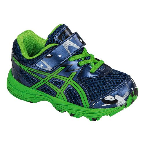 Kids ASICS Turbo Running Shoe - Blue/Green 4C