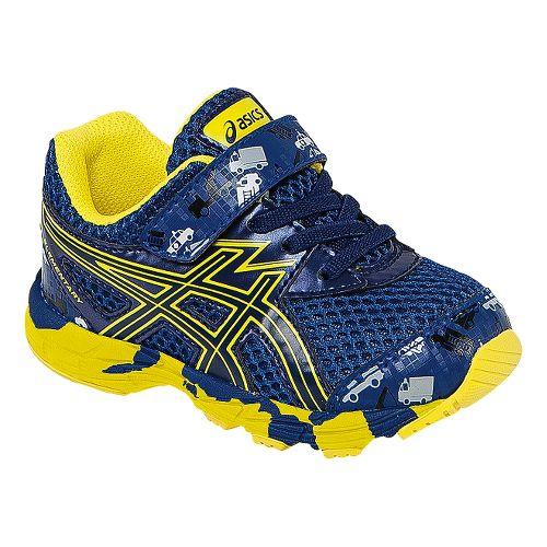 Kids ASICS Turbo Running Shoe - Indigo Blue/Yellow 5C