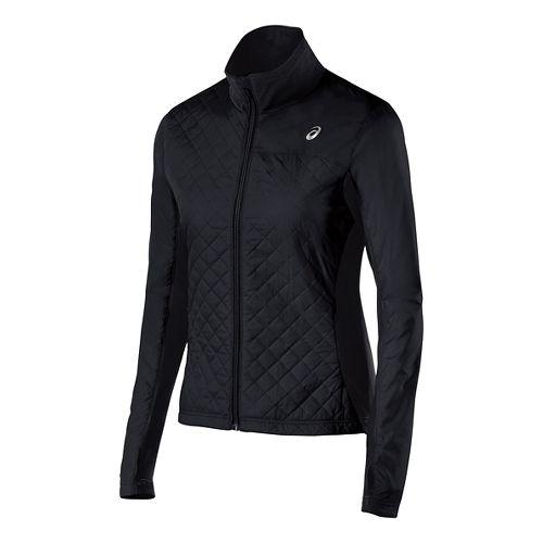 Womens ASICS Thermo Windblocker Outerwear Jackets - Performance Black XS