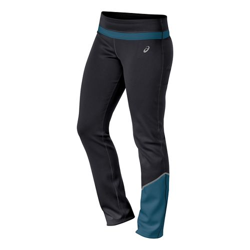 Womens ASICS Thermal XP Slim Full Length Pants - Performance Black M