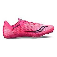 Womens Saucony Endorphin Track and Field Shoe - Orange/Black 9.5