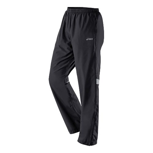 Womens ASICS Storm Shelter Full Length Pants - Performance Black XS