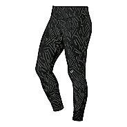 Womens ASICS 7/8 Graphic Full Length Tights