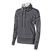 Womens ASICS Fit-Sana Long Sleeve Hooded Technical Tops