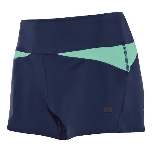 Womens ASICS Fit-Sana Wrap Unlined Shorts - Indigo Blue XS