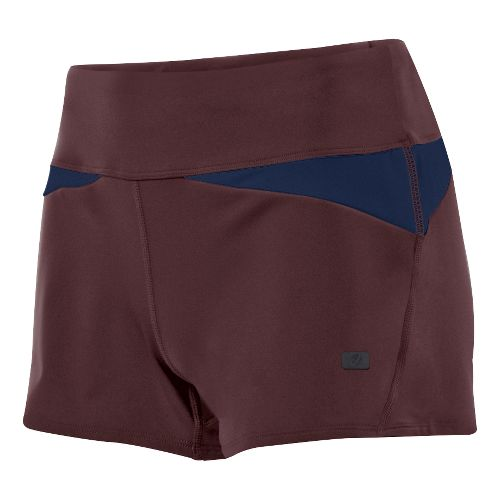 Womens ASICS Fit-Sana Wrap Unlined Shorts - Port Royale XL