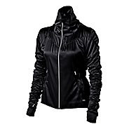 Womens ASICS Fit-Sana Ruched Warm Up Unhooded Jackets