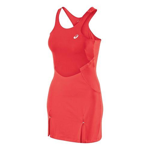 Womens ASICS Athlete Dress Fitness Skirts - Hibiscus XL