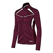 Womens ASICS Cali Warm Up Unhooded Jackets